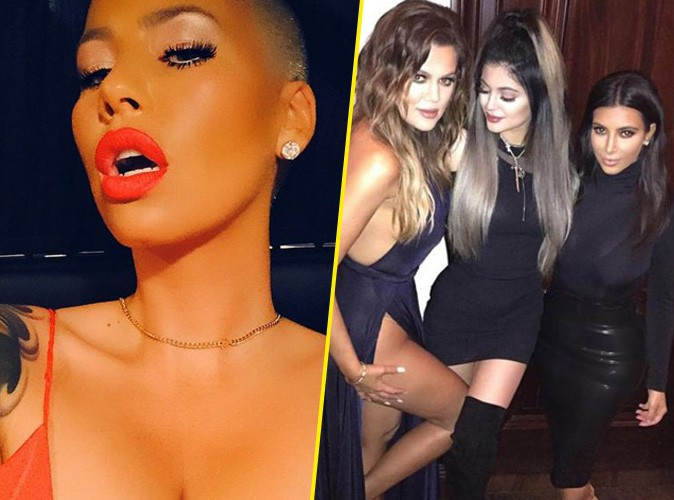 Amber Rose : la guerre est déclarée avec les Kardashian... Les insultes fusent !