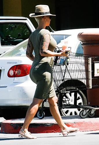 Amber Rose à Los Angeles le 15 août 2014
