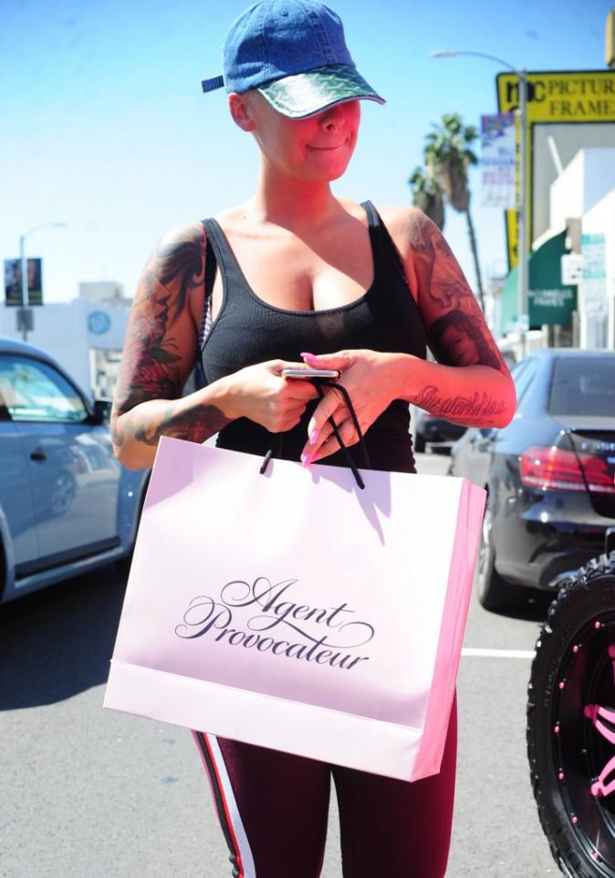 Amber Rose en Californie le 28 septembre 2015