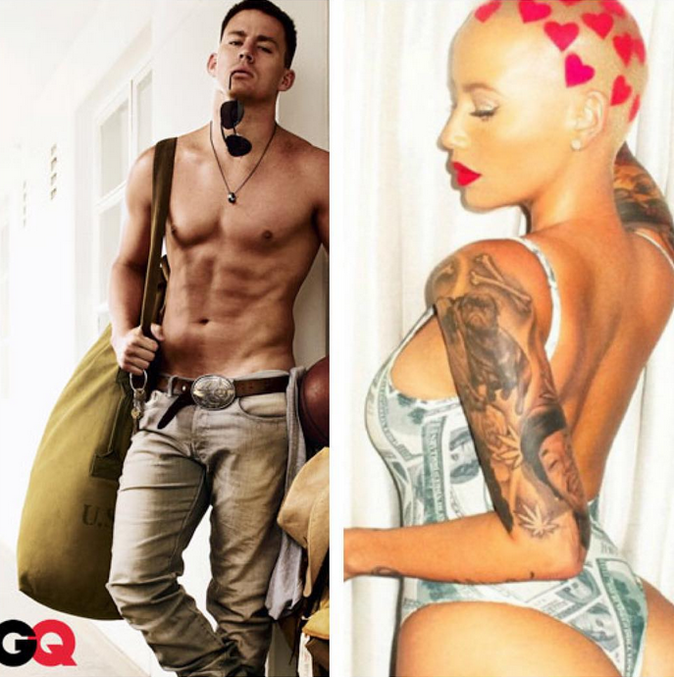 Amber Rose en shooting pour GQ