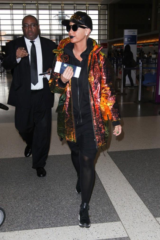 Amber Rose le 29 janvier 2015