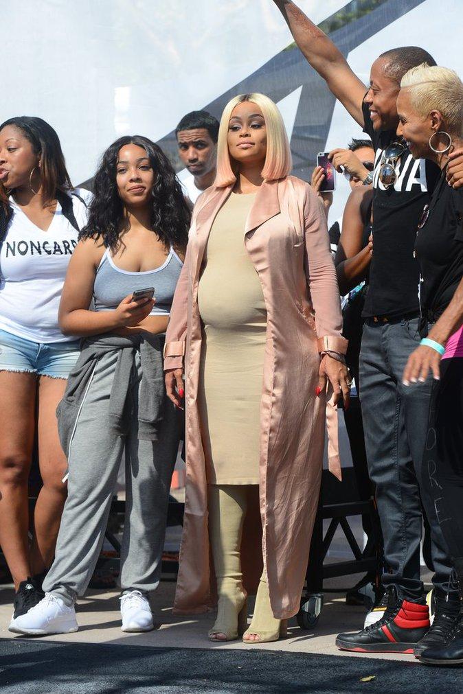 """Blac Chyna à la """"Marche des Salopes"""" à Los Angeles le 1er octobre 2016"""