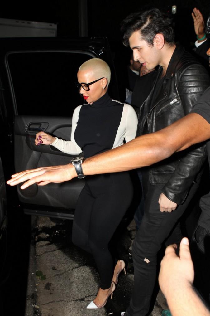 Photos : Amber Rose : Wiz Khalifa aux oubliettes, la sexy mama a retrouvé chaussure à son pied !