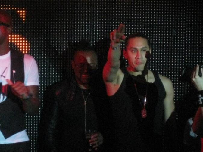 Taboo et Apl.de.ap des Black Eyed Peas au VIP Room Theater, le 24 juin 2011.