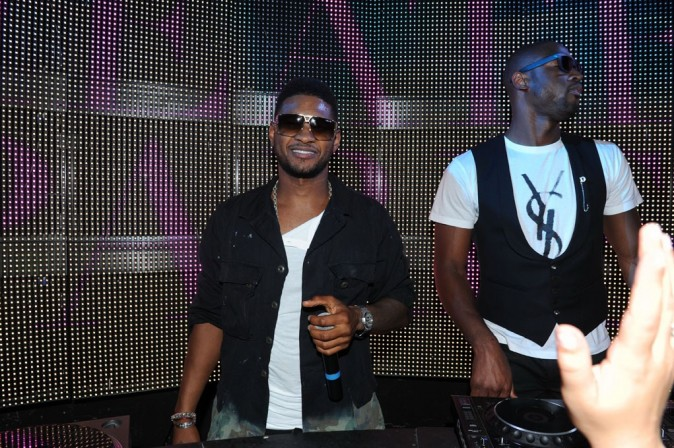 Usher au VIP Room Theater, le 24 juin 2011.