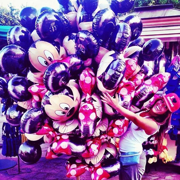 Grosse cargaison de ballons