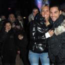Amélie et Alban des Anges 5 à l'ouverture de la Foire du Trône de Paris le 29 mars 2013