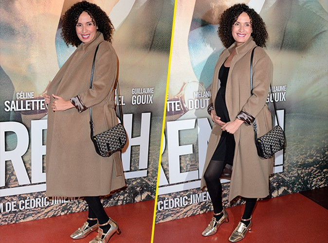Photos : Amelle Chahbi : sans son Fabrice Éboué mais avec un joli bidon, une femme enceinte pétillante !