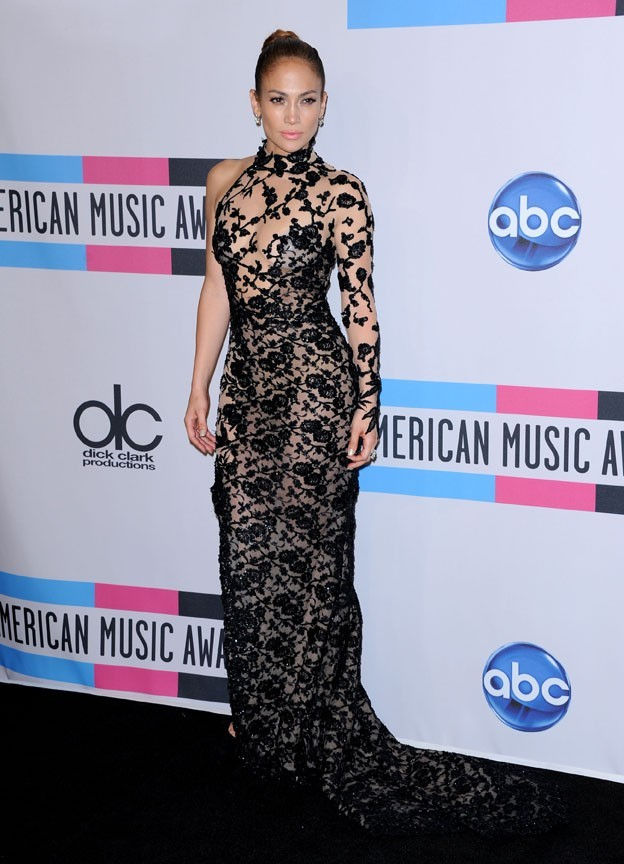 Jennifer Lopez hier aux American Music Awards