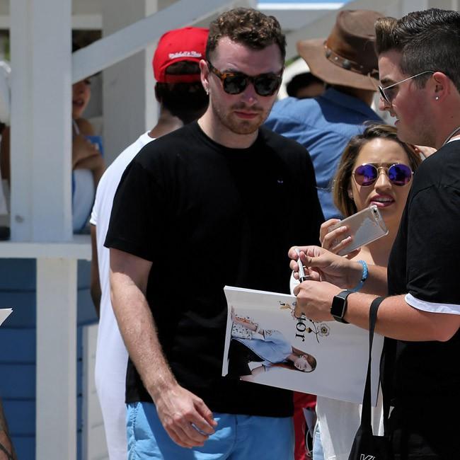 Sam Smith à Miami le 20 juillet 2015