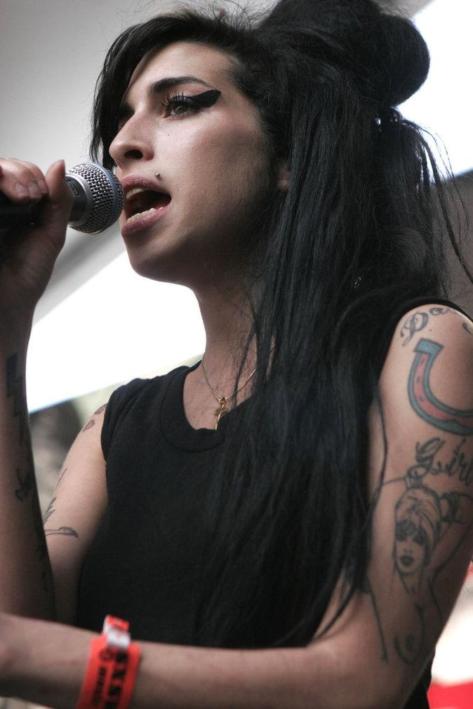 Amy Winehouse a une voix unique