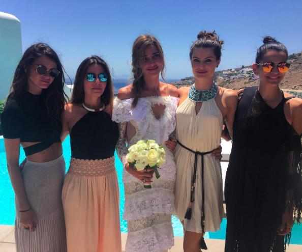 Ana Beatriz Barros et ses amies
