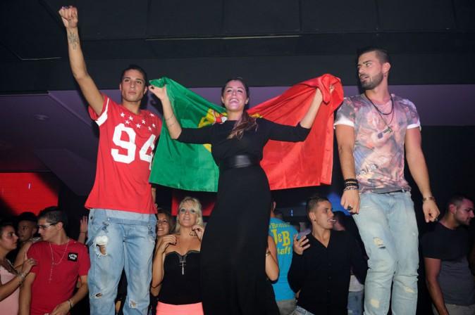 Anaïs, Vincent, Julien, Eddy de Secret Story au Lokomia Club de Coignières le 27 septembre 2013