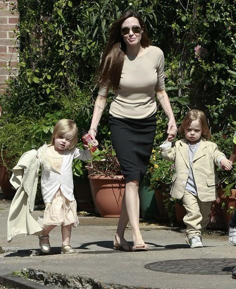 Une maman comblée, en 2011