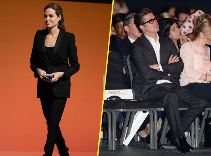 Angelina Jolie : elle poursuit son sommet sur le viol en temps de guerre sous les yeux ébahis de Brad Pitt !