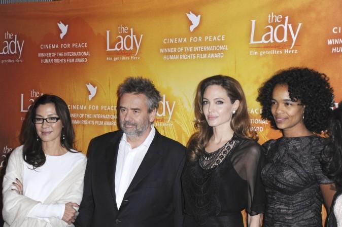 Avec toute l'équipe de The Lady !