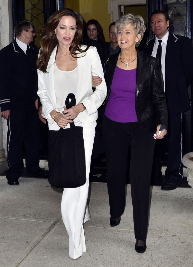 Angelina et belle maman !