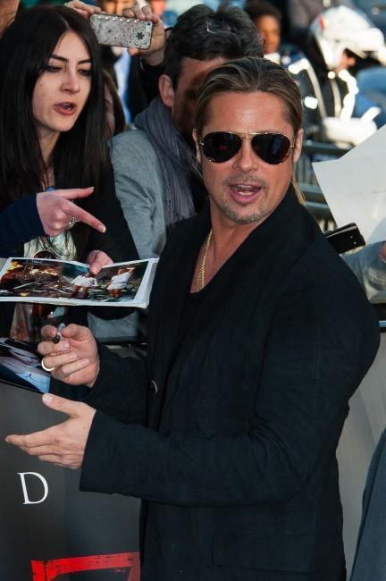 Brad Pitt le 3 juin 2013 à Paris