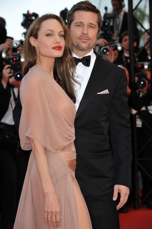 Brad Pitt et Angelina Jolie en mai 2009 au festival de Cannes pour la projection de Inglorious Basterds