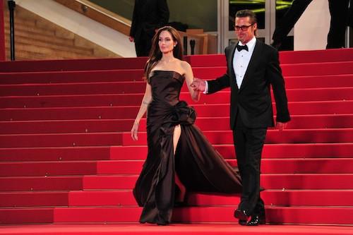 Brad Pitt et Angelina Jolie en mai 2011 au festival de Cannes
