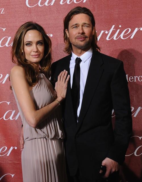 Brad Pitt et Angelina Jolie : un couple hot qui ne se prive pas sur tapis rouge!