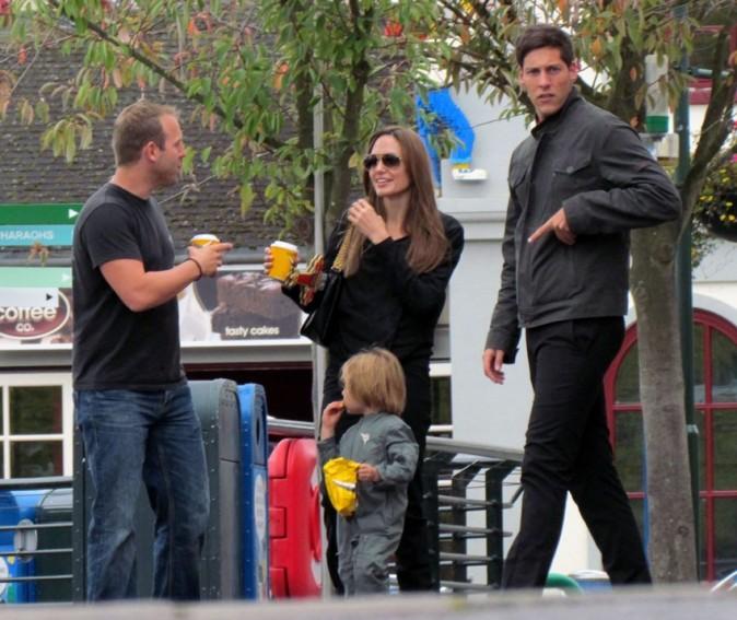 La star prend du bon temps avec ses enfants !