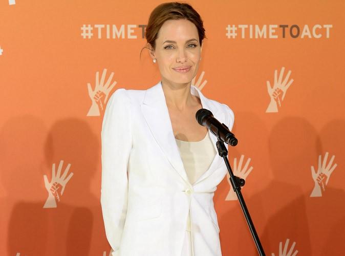 Angelina Jolie : la star engagée à Londres pour co-présider un sommet sur le viol en temps de guerre !