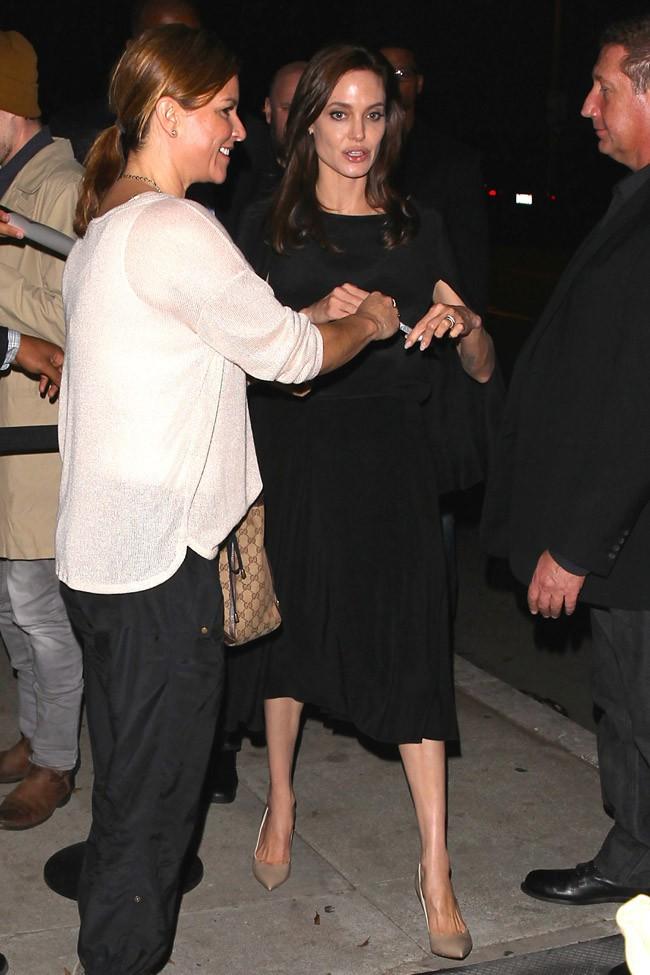 Angelina Jolie à Beverly Hills le 9 décembre 2014