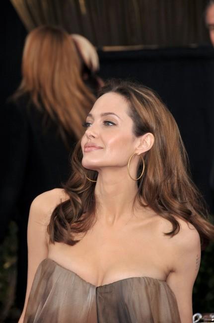 Angelina Jolie lors de la cérémonie des Screen Actors Guild Awards à Los Angeles, le 27 janvier 2008.