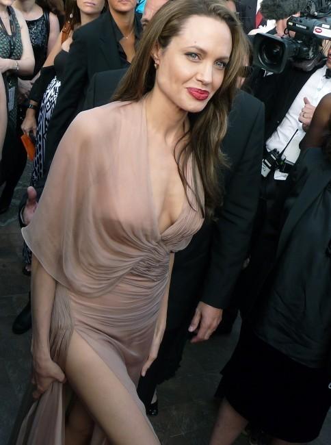 Angelina Jolie lors du Festival de Cannes 2009.