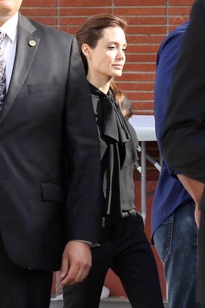 Angelina Jolie : ses enfants veulent des tatouages !