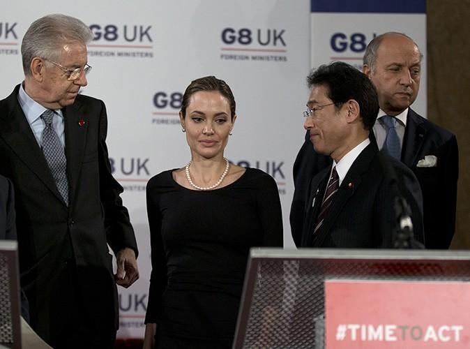 Angelina Jolie à Londres, le 11 avril 2013