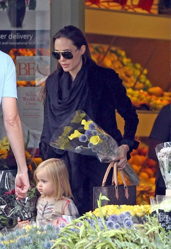 Angie, madame tout le monde qui va acheter ses fleurs à Londres !