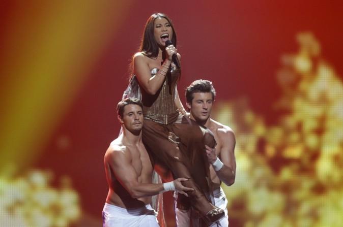 Anggun au concours de l'Eurovision 2012