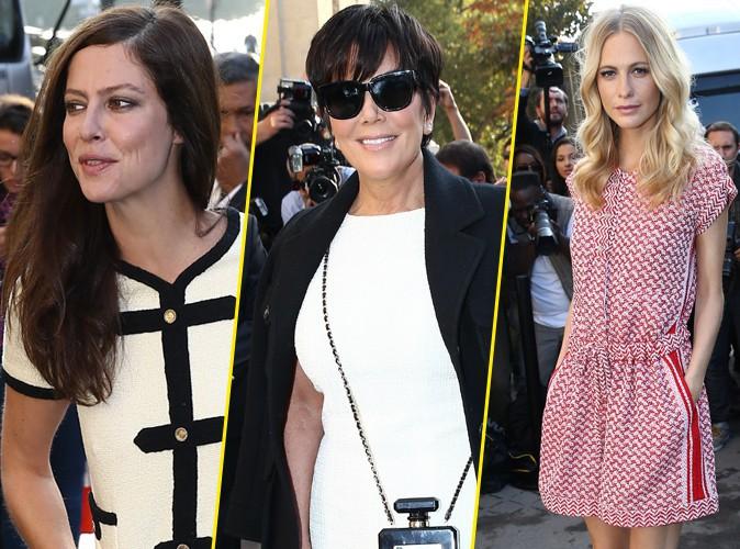 Anna Mougalis, Kris Jenner, Poppy Delevingne... Elles ont toutes assist� � la grande r�volution Chanel !