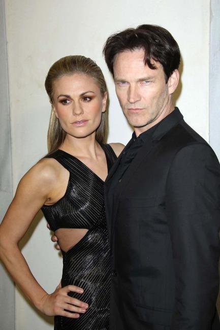 Anna Paquin et Stephen Moyer le 21 février 2013 à Beverly Hills