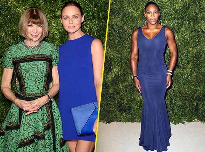 Photos : Anna Wintour, Stella McCartney, Serena Williams : complicité et apparition musclée au CFDA/Vogue Fashion Fund !