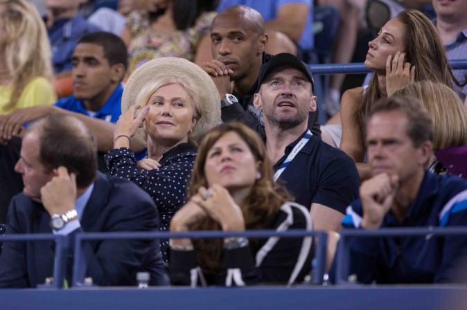 Anna Wintour, Thierry Henry et Hugh Jackman: assis les uns à côté des autres à l'US Open !