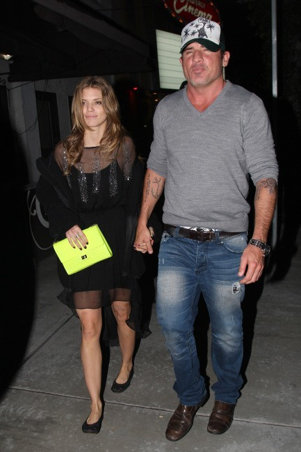 AnnaLynne McCord et Dominic Purcell le 3 décembre 2012 à Los Angeles