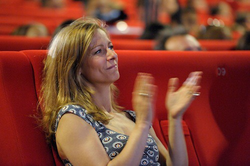 Amoureuse, elle soutient corps et âme son Manuel lors de la primaire socialiste de 2011