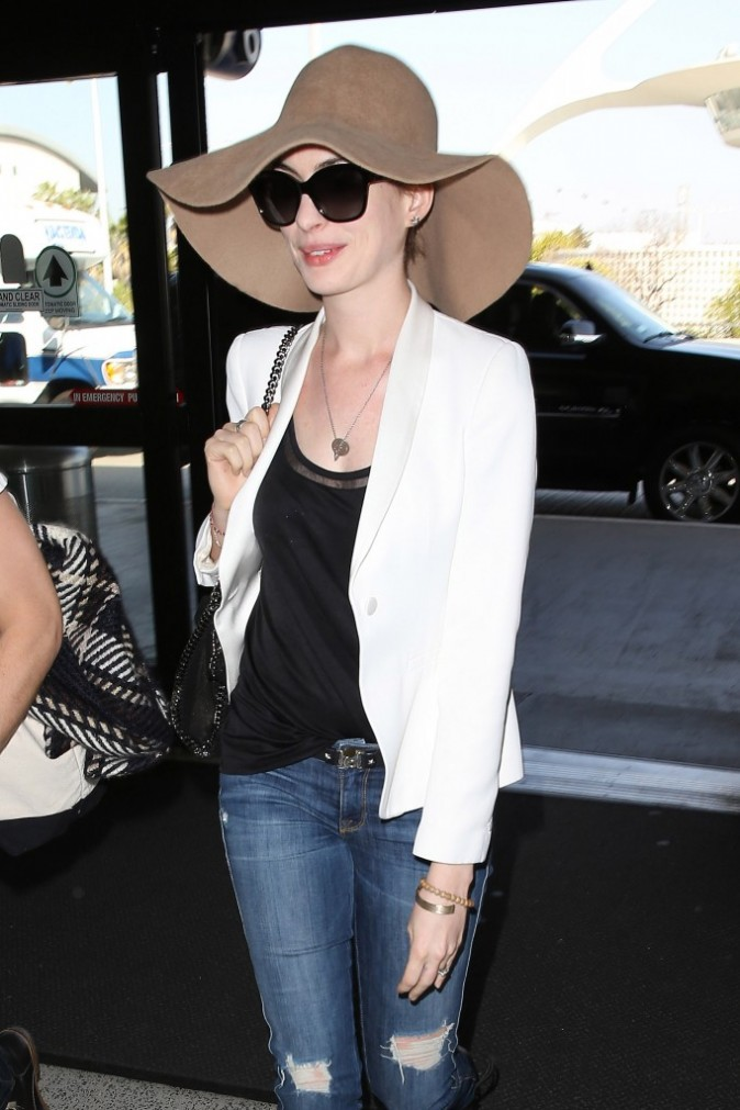 Anne Hathaway, Los Angeles, 22 mars 2013.