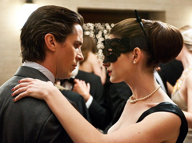 Le sommet : en catwoman, aux côtés de Christian Bale dans le dernier Batman, en 2012.