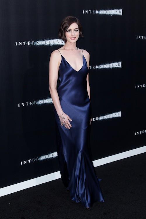 Photos : Anne Hathaway et Jessica Chastain : duo de charme pour la première d'Interstellar !