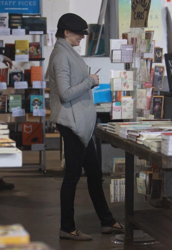 Anne Hathaway, New York, 1er avril 2013.
