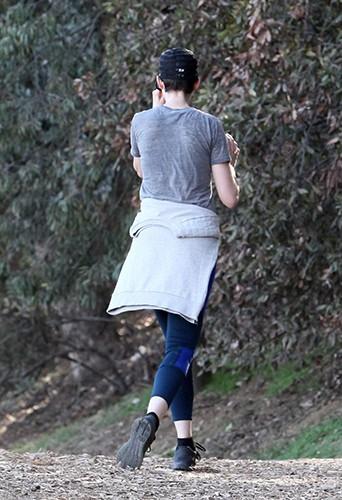 Anne Hathaway à Los Angeles le 27 décembre 2013