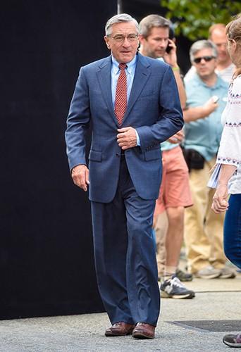 Robert de Niro à New York le 26 août 2014