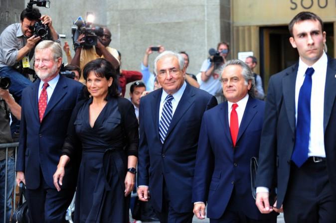 L'équipe d'avocats de DSK, après son acquittement à New-york