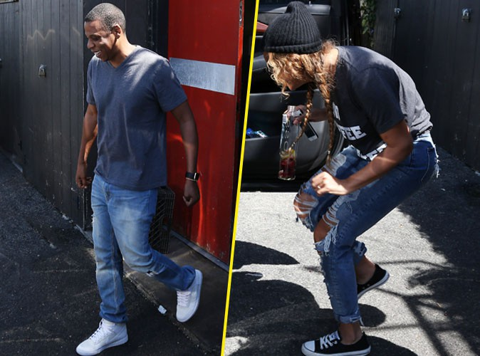 Photos : après le flop de Tidal, Jay-Z et Beyoncé font profil bas !