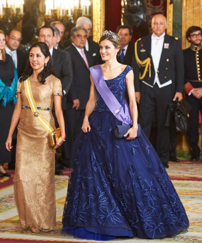 Letizia d'Espagne et la première dame péruvienne