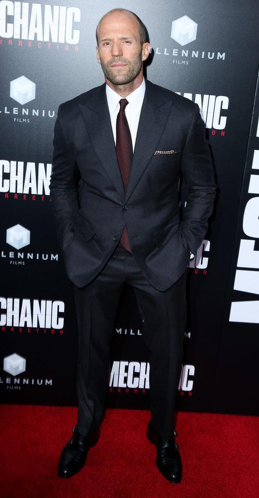 """Jason Statham à l'avant-première de """"Mechanic Ressurrection"""" ce lundi 22 août"""